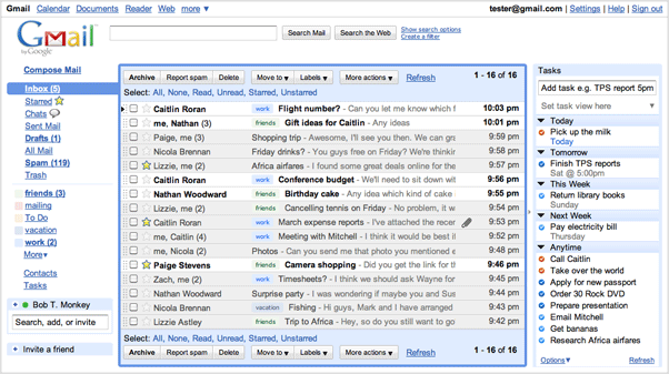 how to add stars to gmail